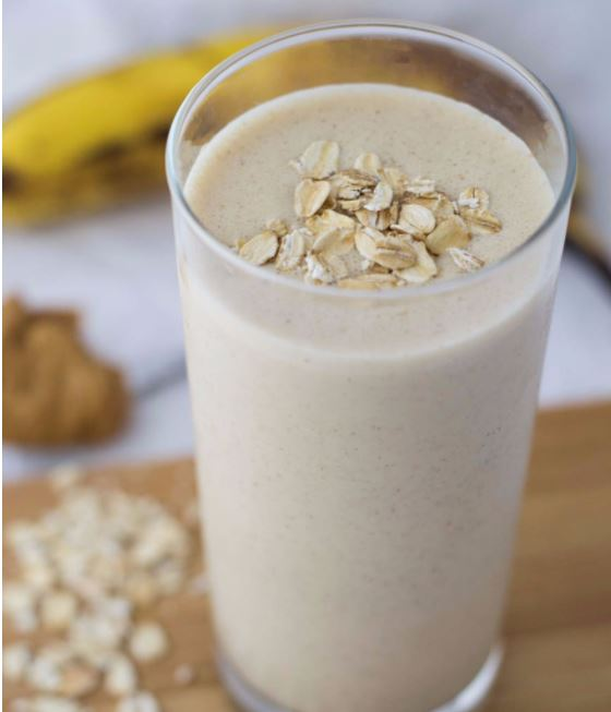 Peanut butter banana smoothie - healthy smoothies