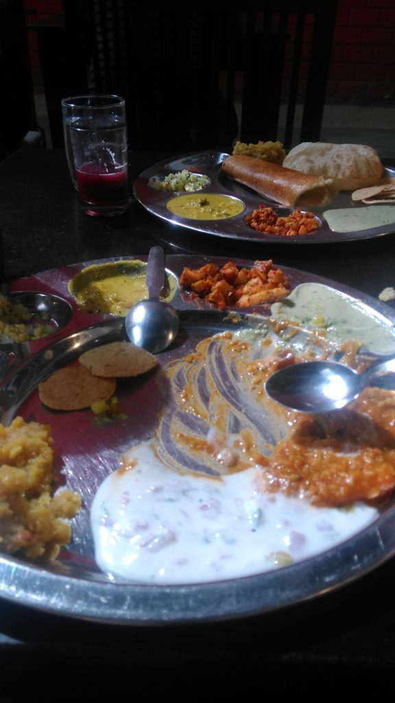 wheresachi-5dayBudgetTripToBangloreMysoreCoorg-ThaliAtMTRBanglore